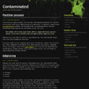 Website Template: Contaminated
