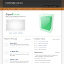 Website Template: Freshmade Software