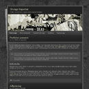 Website Template: Grunge Superstar