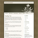 WordPress Theme: Natural Essence