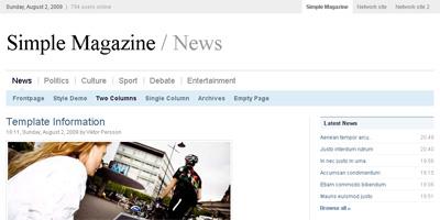 WordPress Theme: Simple Magazine
