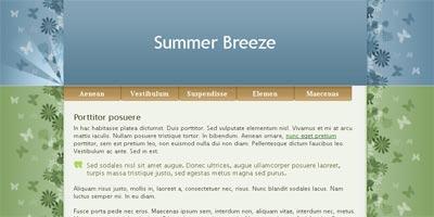 WordPress Theme: Summer Breeze