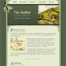 Website Template: The Hobbit