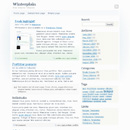 WordPress Theme: Winterplain